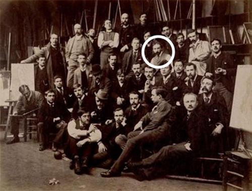 Vincent van Gogh groepsfoto
